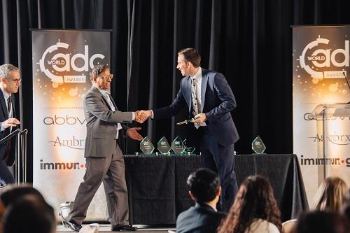 World ADC San Diego handing award